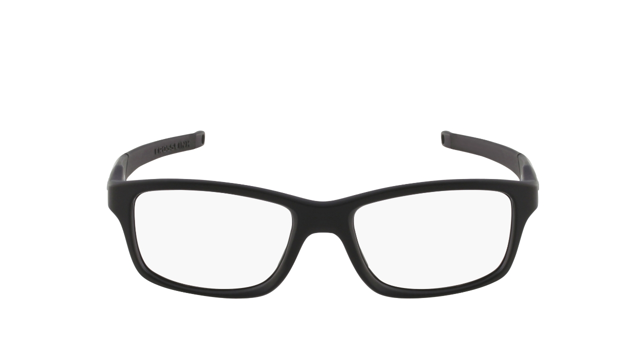 Lunettes de vue Oakley OX80300555CROSSLINK-O-SATINBLACK-55-18-140 ... 795643f97bc9